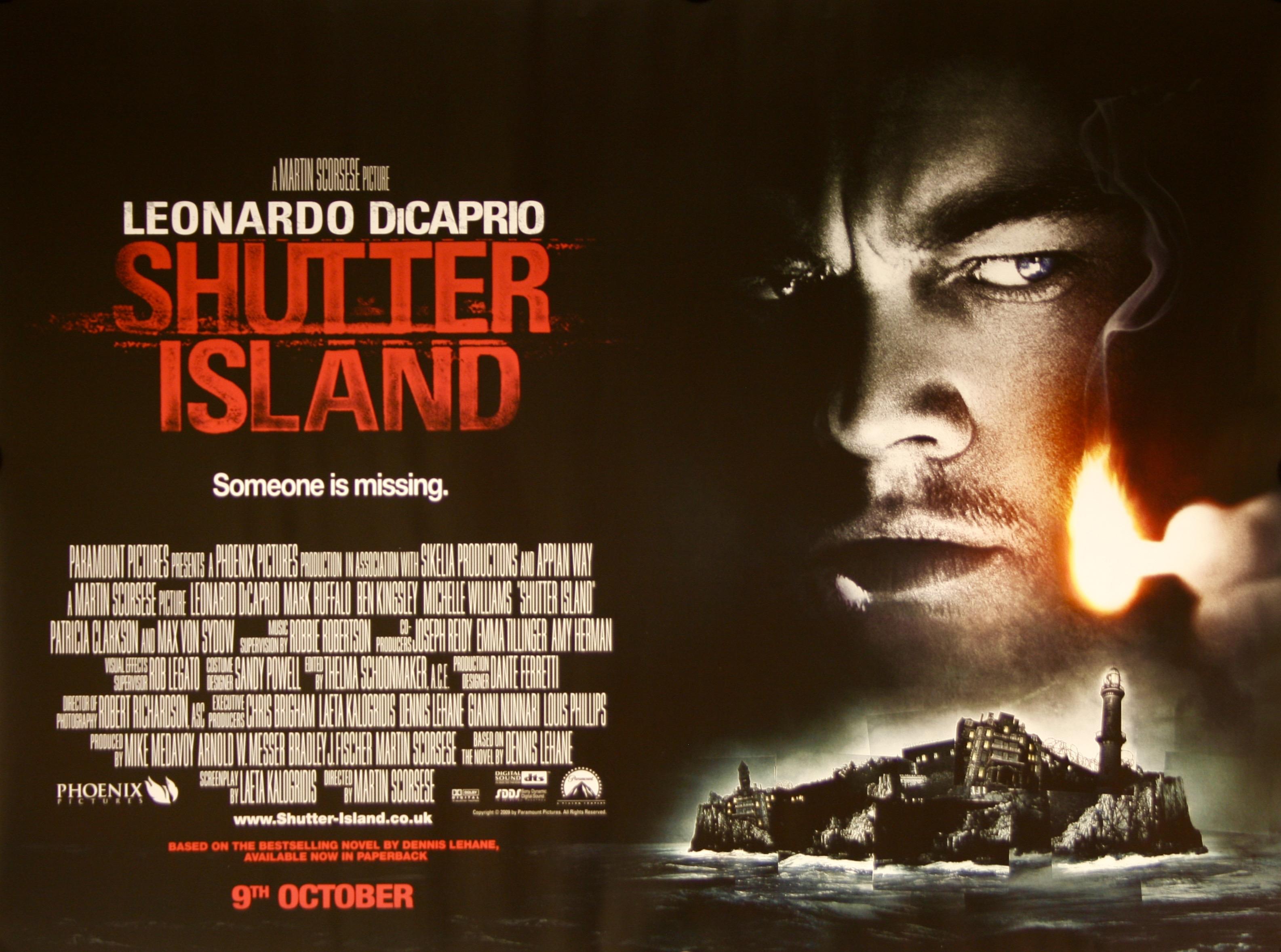 shutter island vintage movie posters