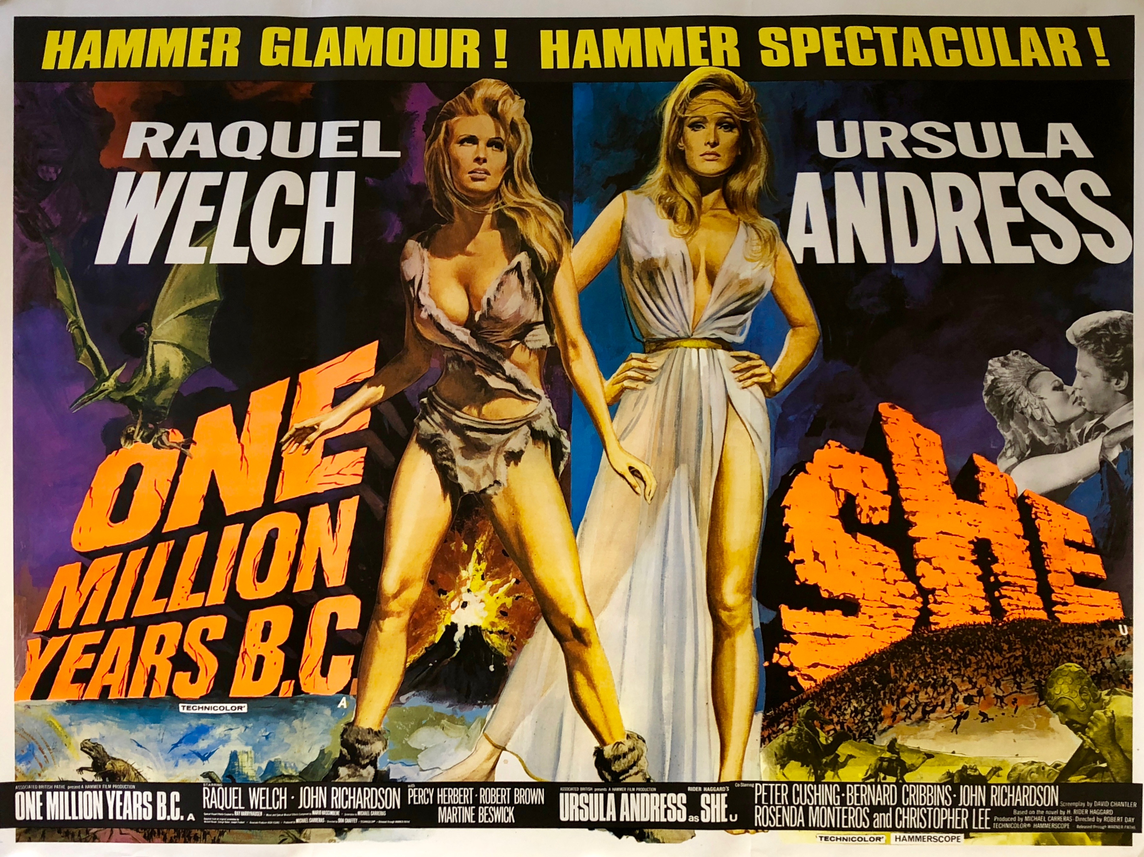 One-Million-Years-B.C.-/-SHE-Movie-Poster
