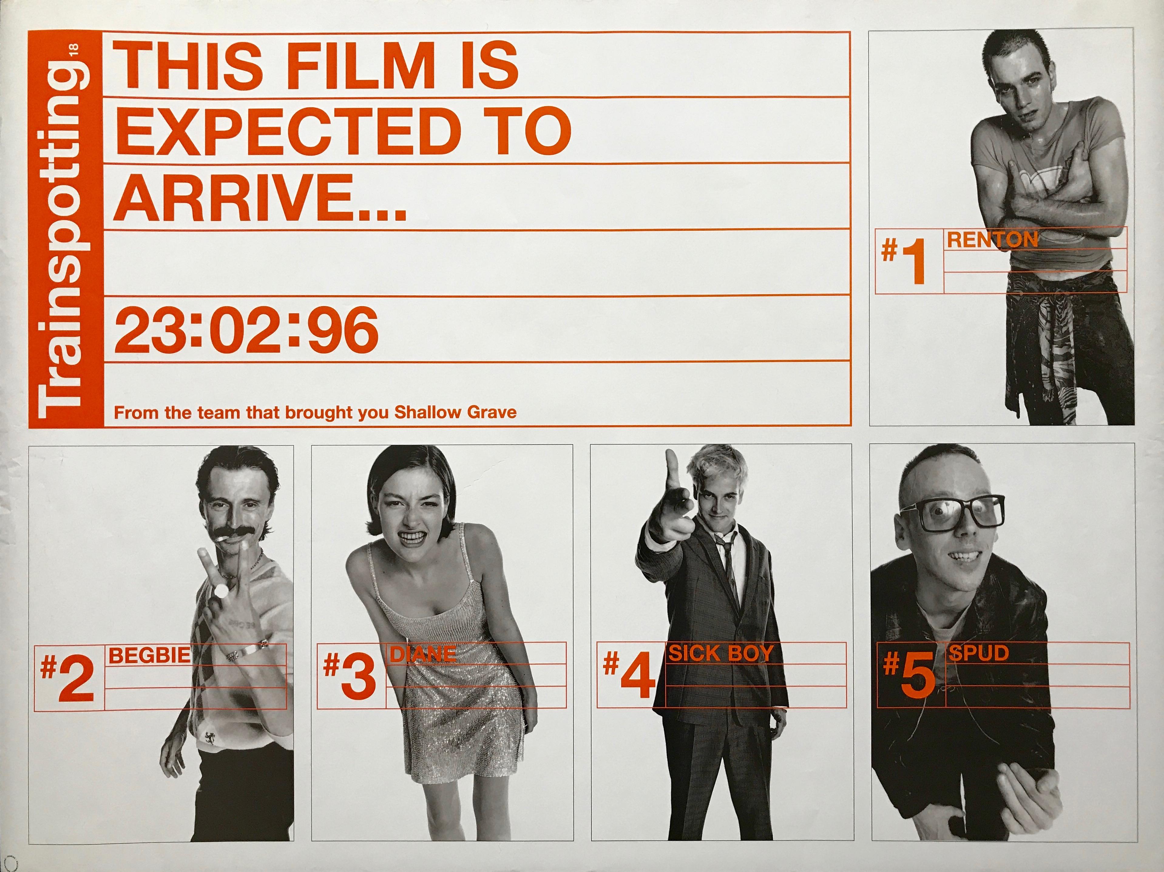 Trainspotting Movie POSTER 27 x 40 Ewan McGregor A LICENSED Ewen Bremner