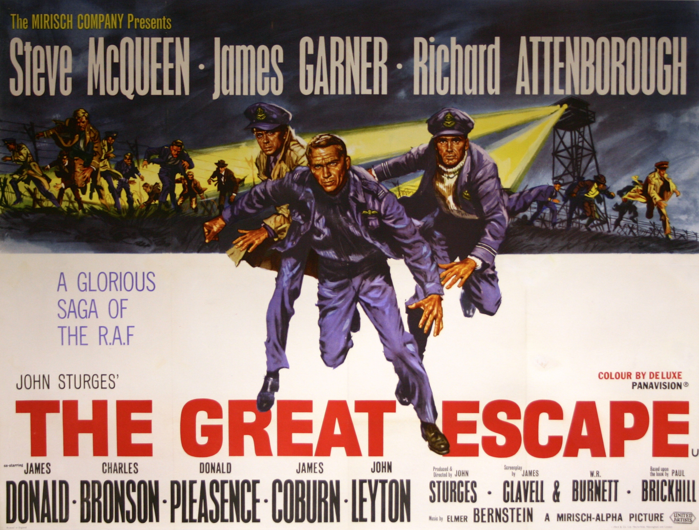 Great Escape, The - Vintage Movie Posters