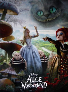 Alice In Wonderland, Tim Burton's   (2010)
