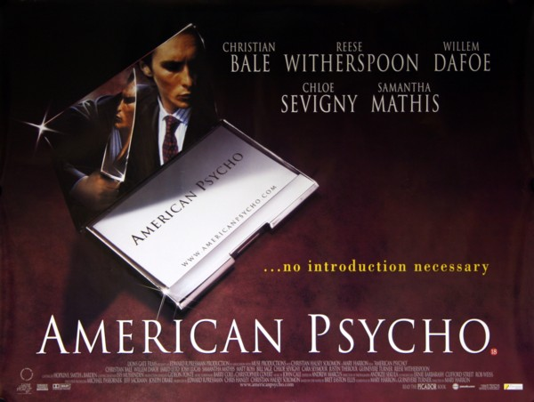 a review of american psycho a movie by mary harron