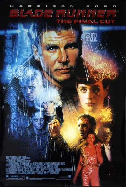 Blade Runner The Final Cut Vintage Movie Posters