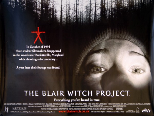 Image result for the blair witch project poster