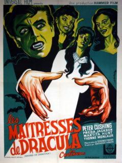 """Brides of Dracula - """" Les Maitresses de Dracula"""" -    (1968 RR)"""