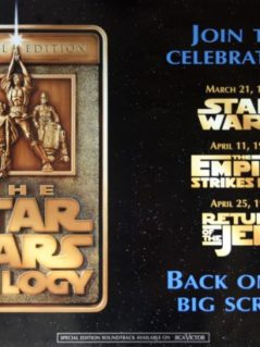Star Wars: Special Edition 1997 Trilogy Teaser