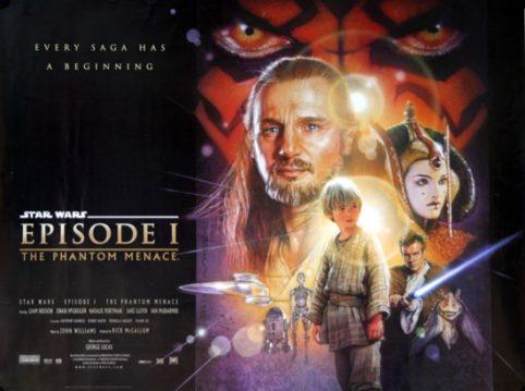 Image result for star wars episode i poster horizontal