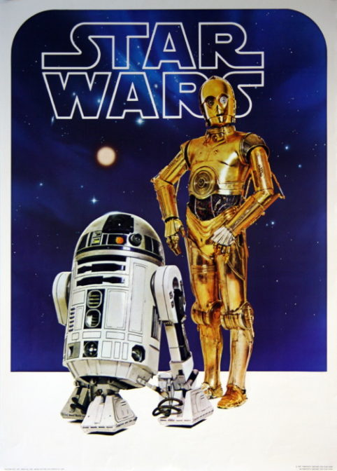 Star Wars Episode Iv A New Hope 1977 Vintage Movie Posters
