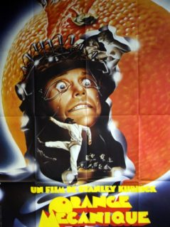 "Clockwork Orange - ""Orange Mecanique""  1971 (1982 RR)"