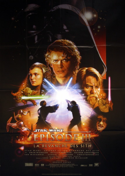 "Star Wars: Episode 3  Revenge of the Sith - ""La Revanche des Sith"""