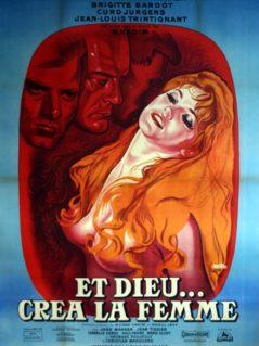 """And God Created Woman - """"Et Dieu...Crea La Femme""""  1956 (1964 RR)"""