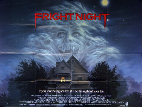 Fright Night Vintage Movie Posters