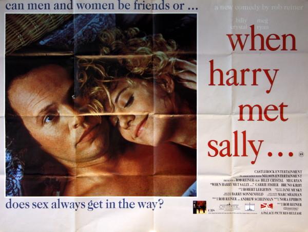 When Harry Met Sally - Vintage Movie Posters