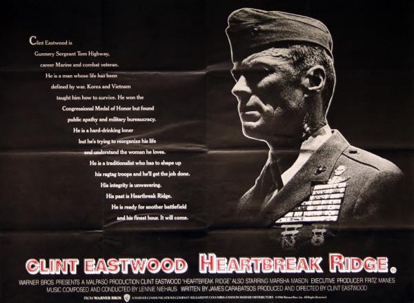Heartbreak Ridge - Vintage Movie Posters