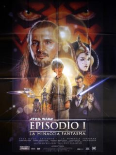 "Star Wars: Episode 1 The Phantom Menace - ""La Minaccia Fantasma"""