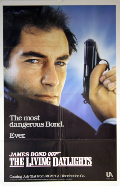 James Bond:  The Living Daylights