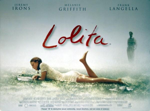 Lolita 1997 Vintage Movie Posters