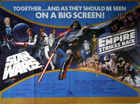 Star Wars / The Empire Strikes Back  - 1982 Double Bill