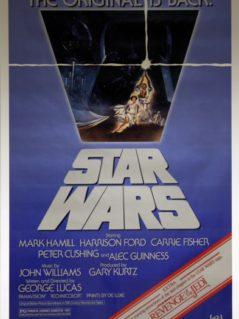 "Star Wars: Episode 4   A New Hope 1982 ""Revenge of The Jedi snipe"""