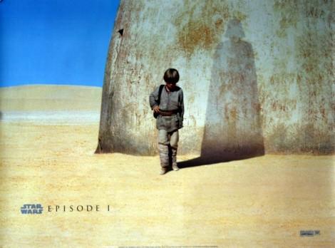 Star Wars Episode 1 Movie Poster