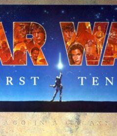 "Star Wars: Episode 4   A New Hope - 1987 10th Anniversary ""John Alvin"" Banner"
