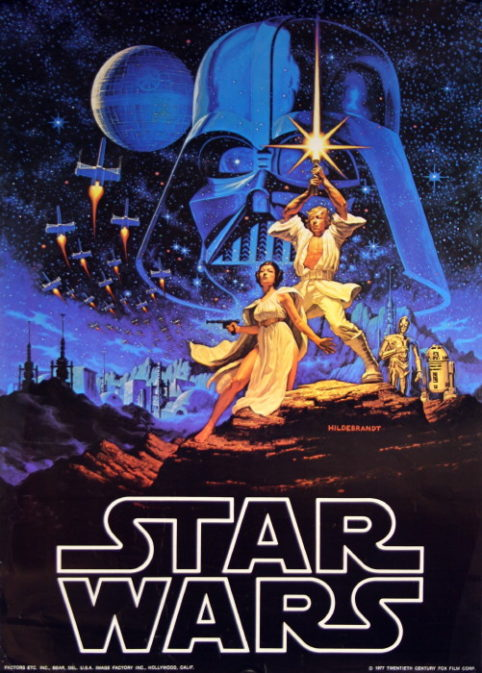 Star Wars Episode Iv A New Hope Vintage Movie Posters