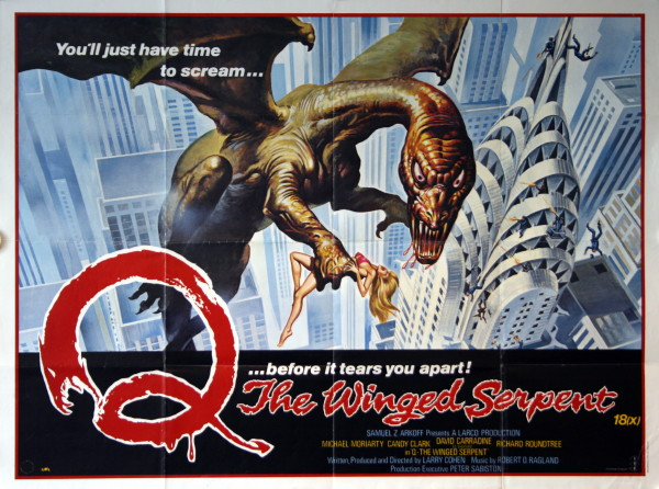 Q The Winged Serpent Film  TV Tropes