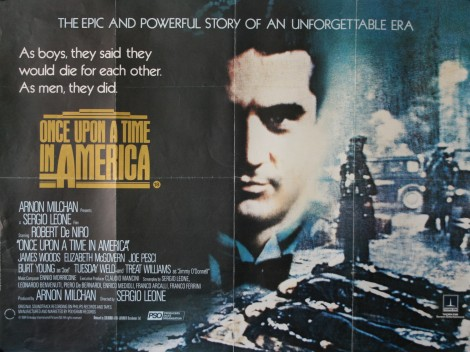 Once Upon A Time In America Vintage Movie Posters