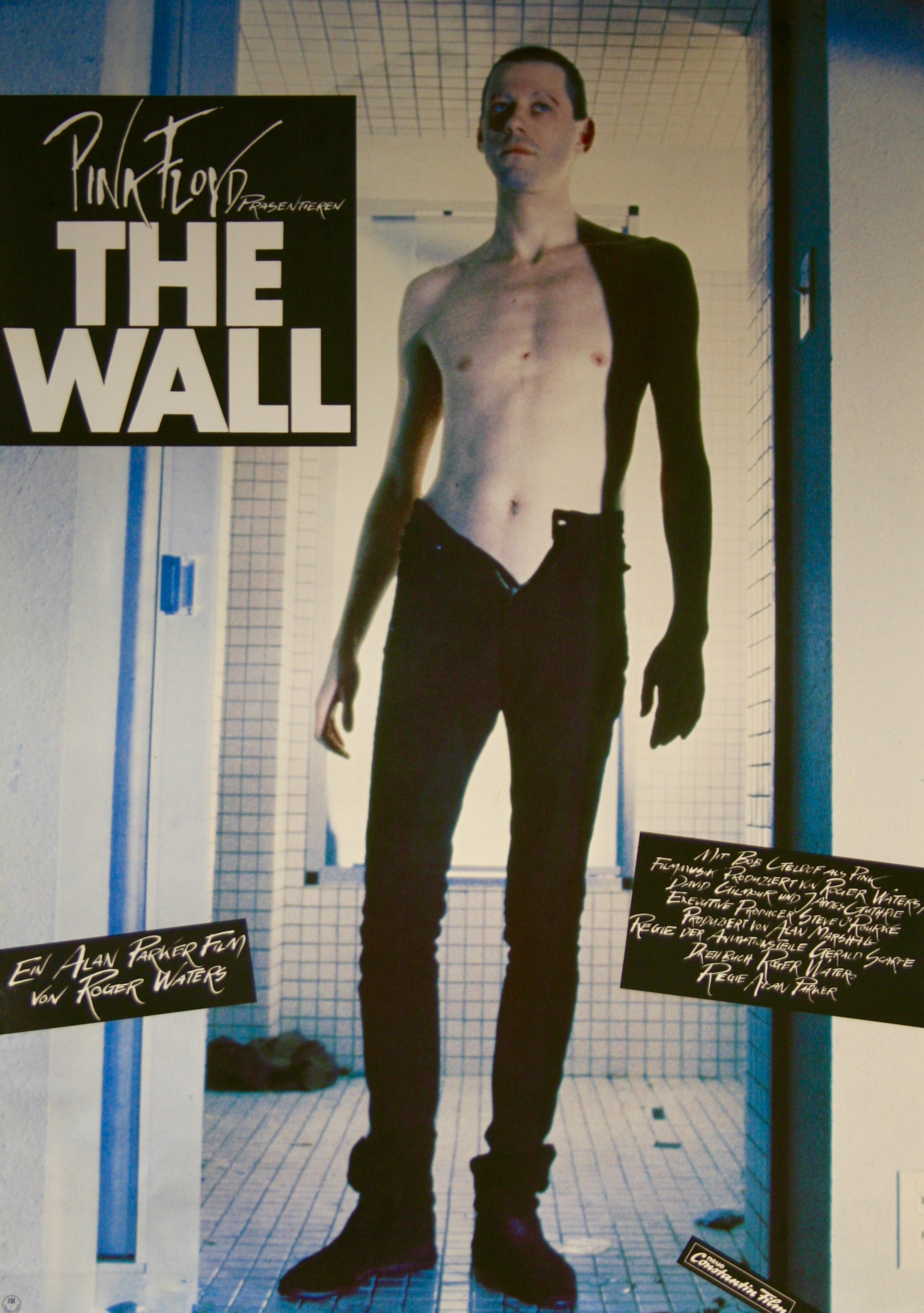 pink floyd the wall movie poster rare vintage film posters