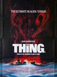 The Thing Original Movie Poster