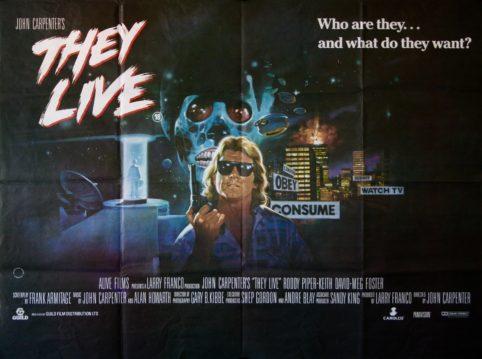 Original They Live Movie Poster
