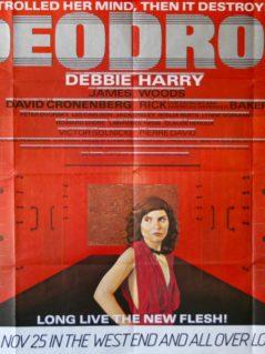 Videodrome UK Quad Film Poster