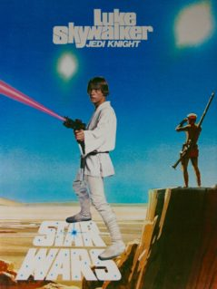 Original Star Wars: Episode IV - A New Hope Movie Poster - Luke Skywalker