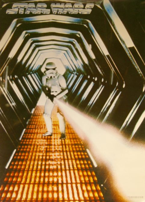 Star Wars: Episode IV - A New Hope Movie Poster - Stormtrooper