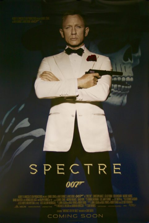 James-Bond-Spectre-Movie Poster