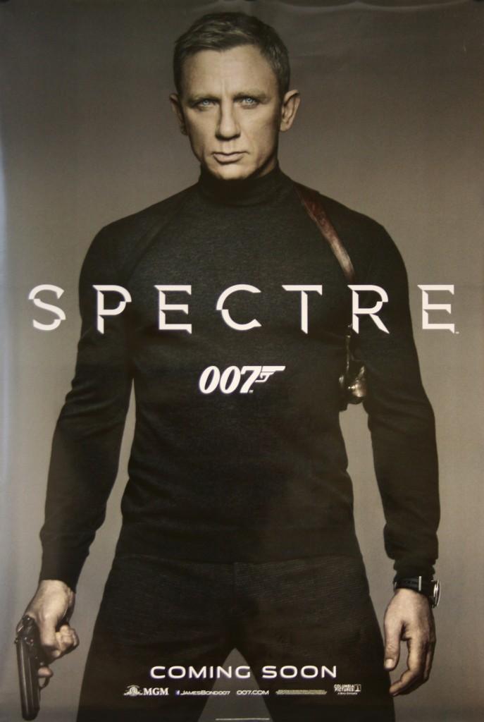 James Bond SPECTRE Movie Poster - Vintage Film Posters