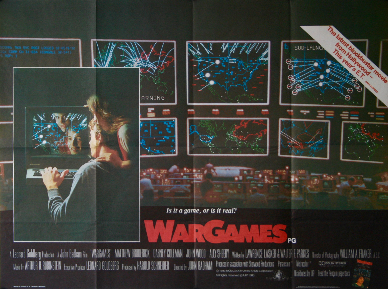 James Western Star >> WarGames Movie Poster