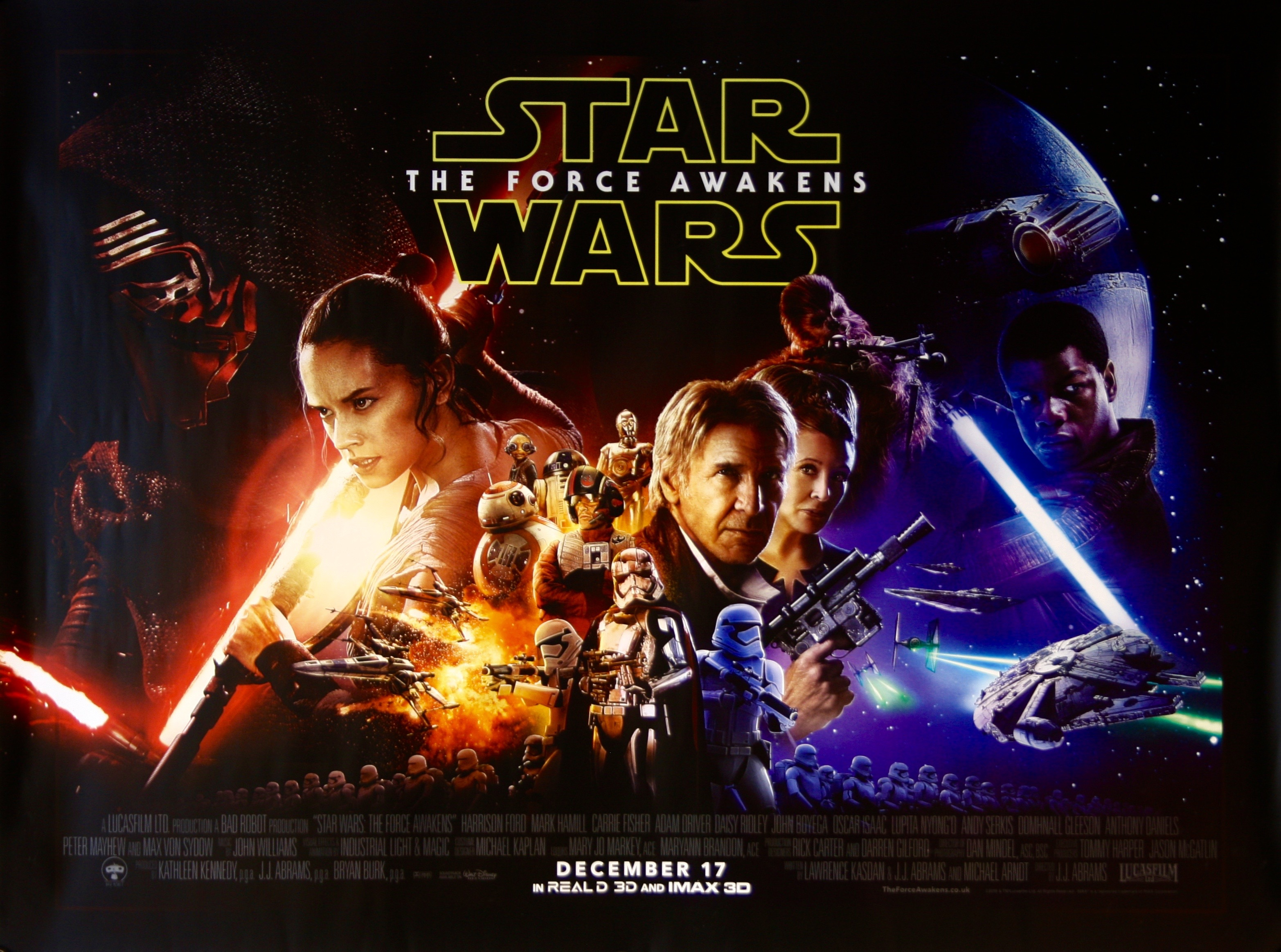 Star-Wars-The Force-Awakens-Movie-Poster