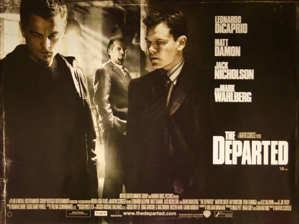 the departed movie review Check out the departed (2006) movie review, rating & box office two men from opposite sides of the law are undercover within the.