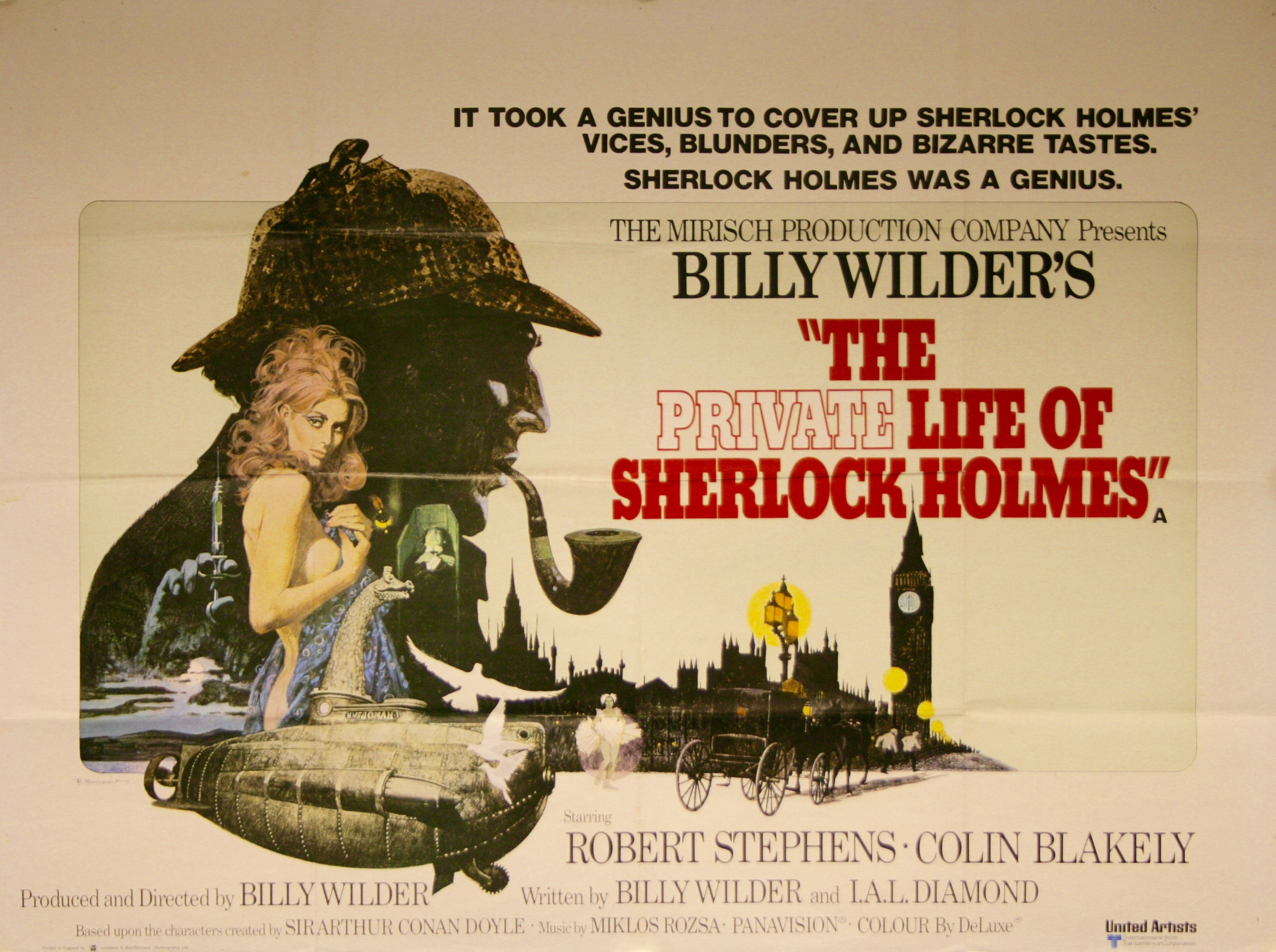 The Private Life of Sherlock Holmes - Vintage Movie Posters