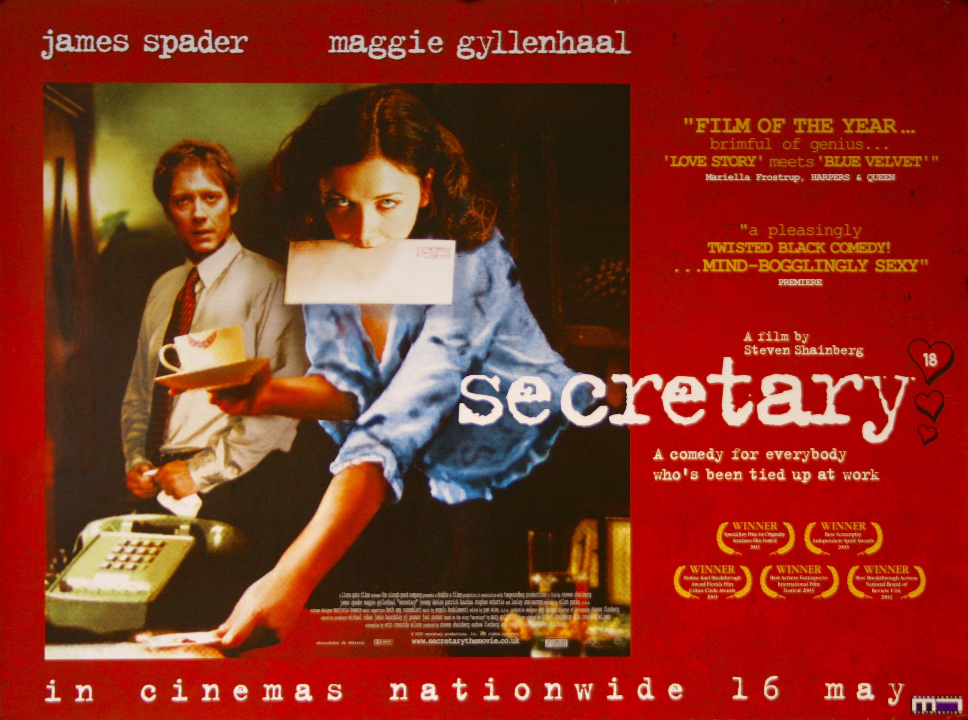 Secretary - Vintage Movie Posters