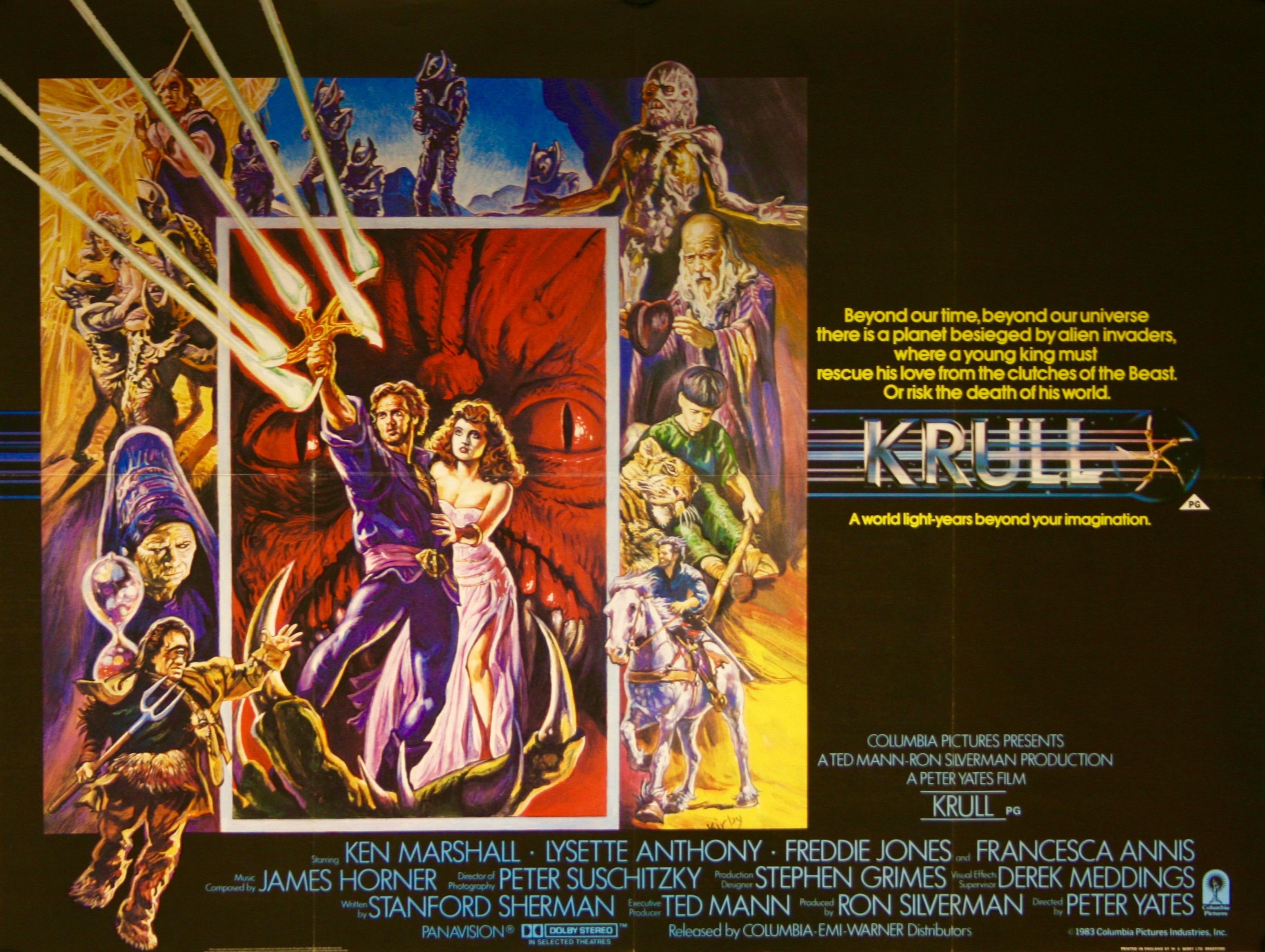 KRULL - Vintage Movie Posters