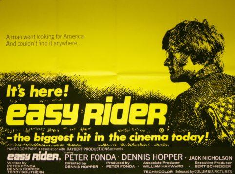 Easy Rider Jack Nicholson New POSTER single