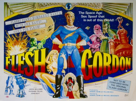 flesh gordon vintage movie posters