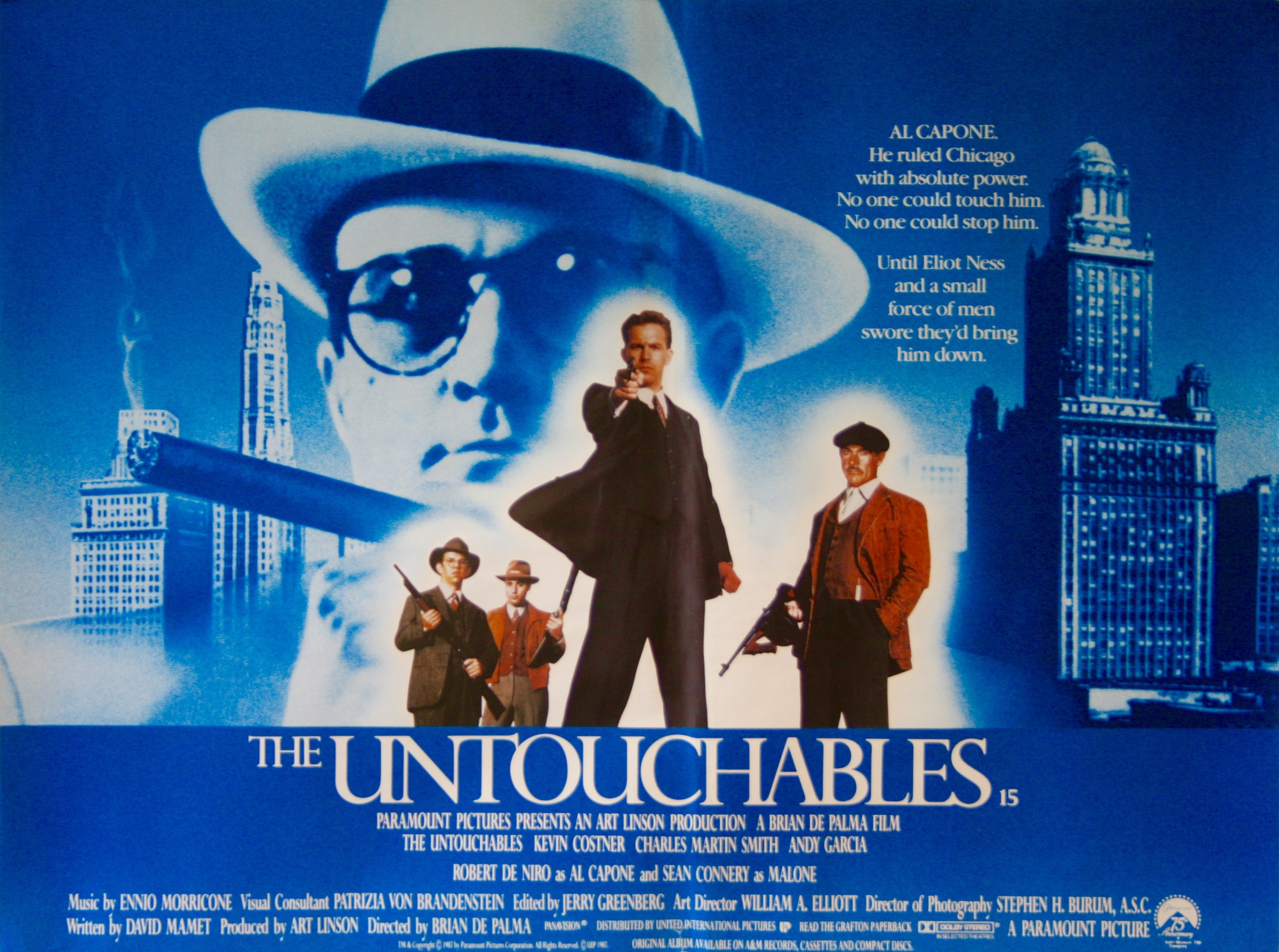 The Untouchables - Vintage Movie Posters