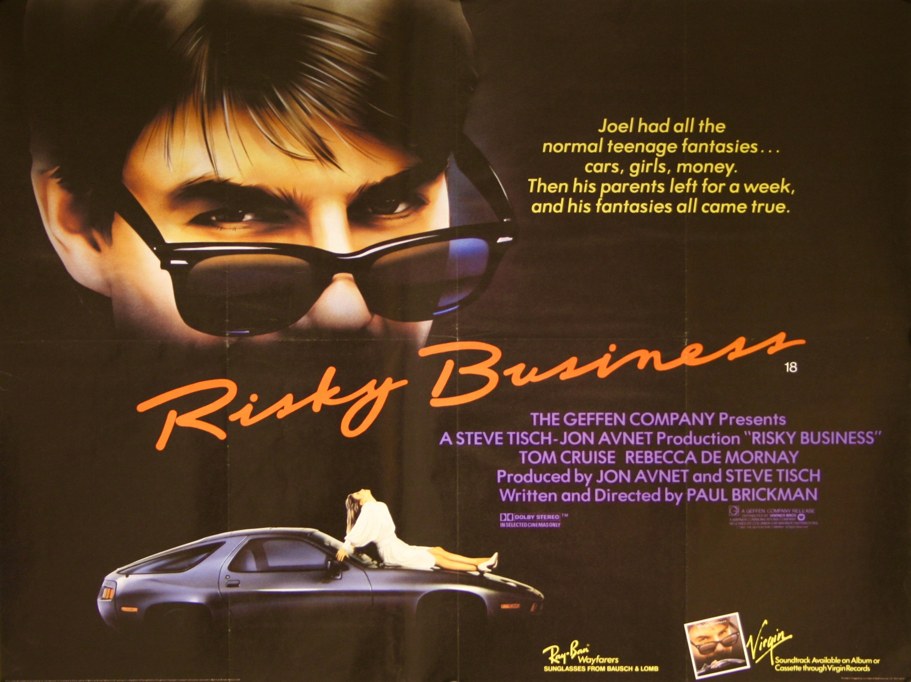 Risky Business - Vintage Movie Posters