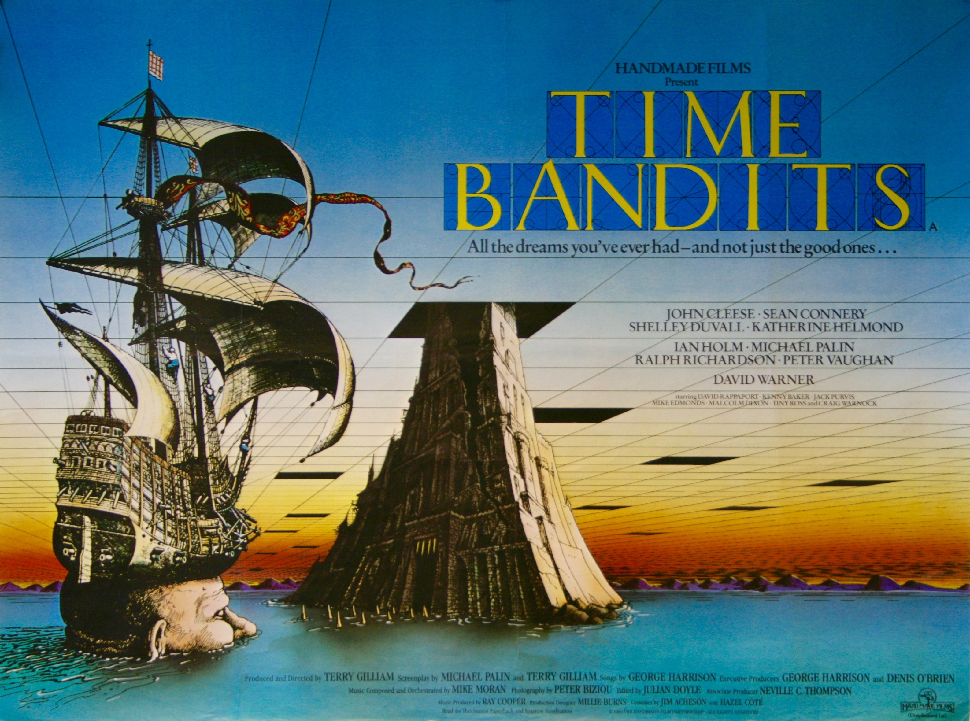 Time Bandits Vintage Movie Posters