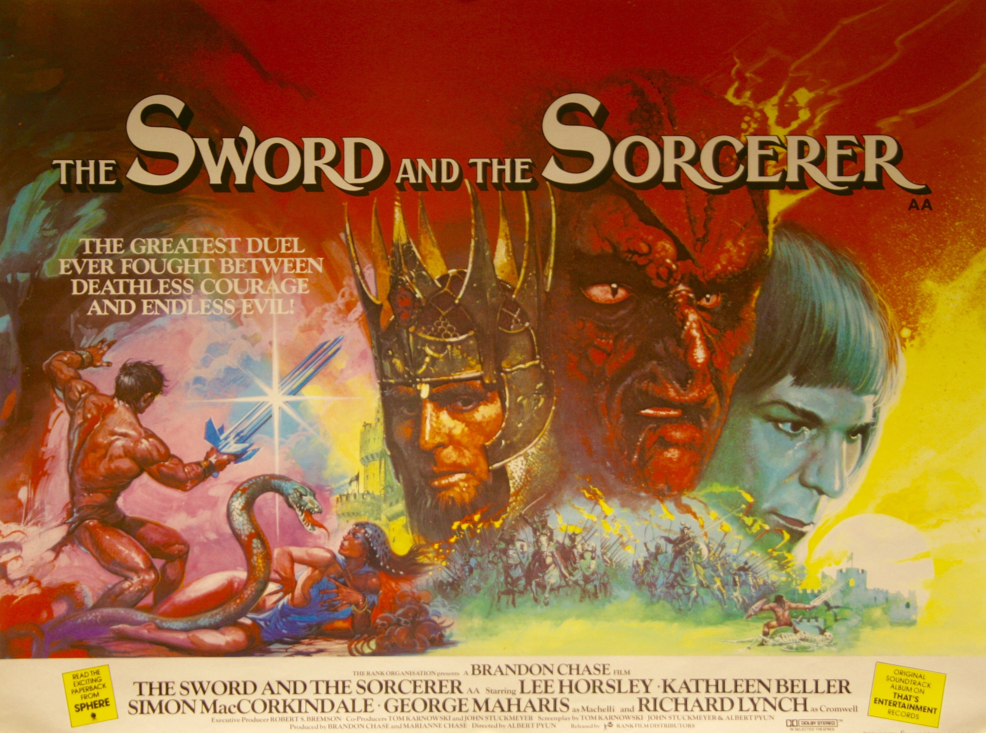 The Sword And The Sorcerer Vintage Movie Posters