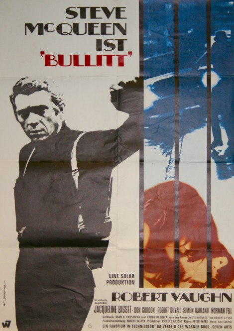 Steve Mcqueen Movie Poster