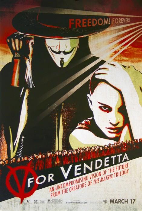 V For Vendetta Movie Poster V for Vendetta ...